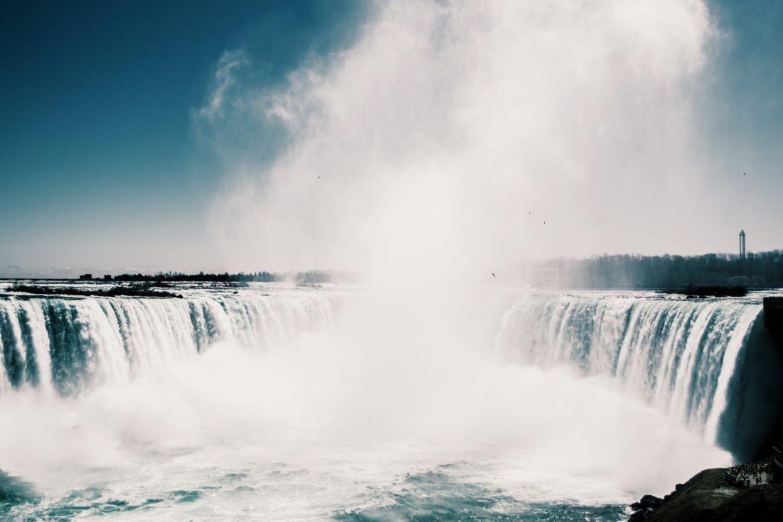 Wasserfall Wolke