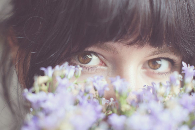 Augen Blumen