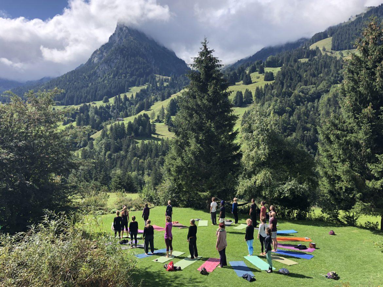 Yoga Natur Berge