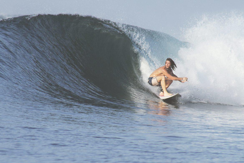 Surfbrett Surfer Welle