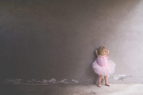 Mädchen Kleid Rosa