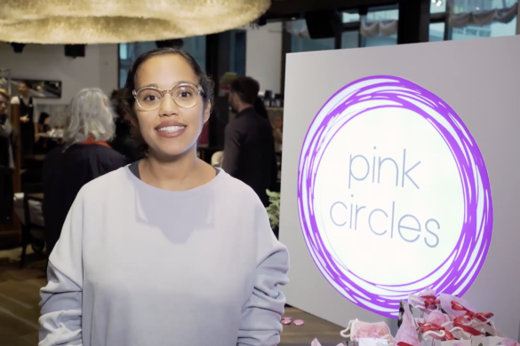 Pink Circles - Natalie Chaimowicz