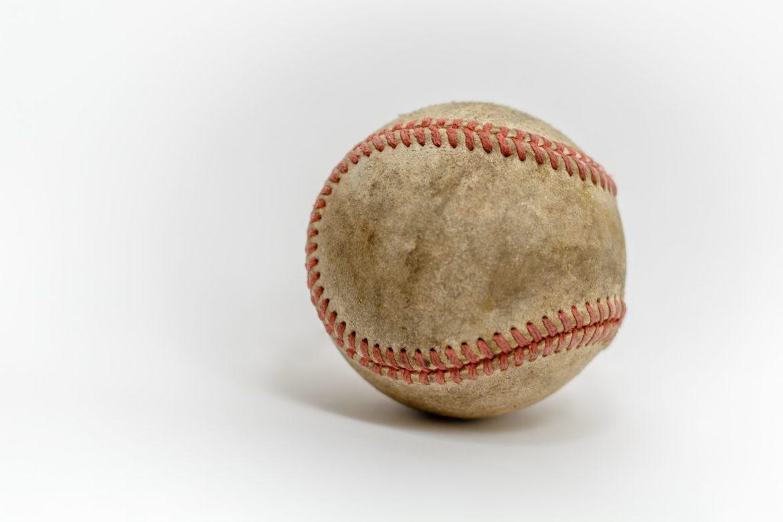 Schmutziger Baseball