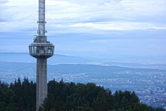 Funkturm auf dem Uetliberg Zürich