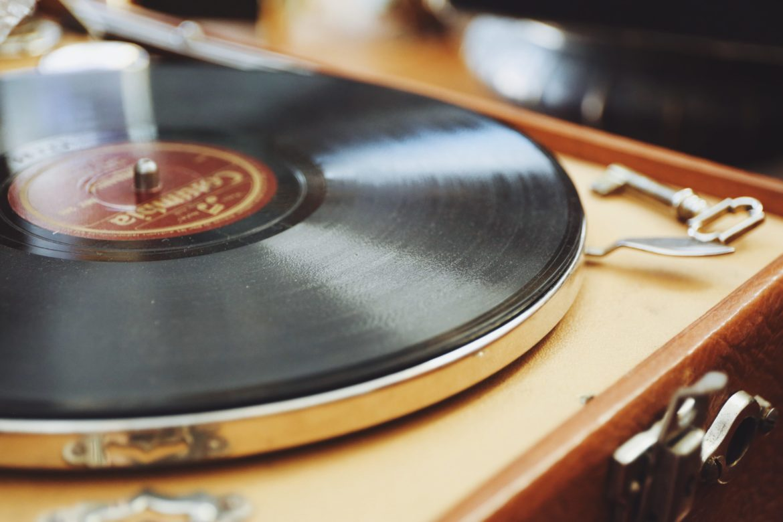 Schallplatte für Musik