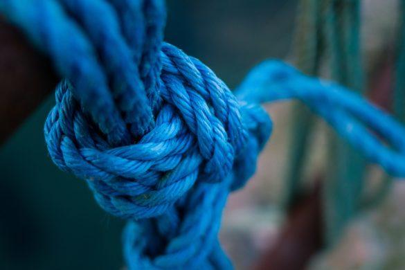 Seil mit Knoten