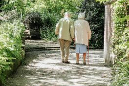 Alter Mann und alte Frau