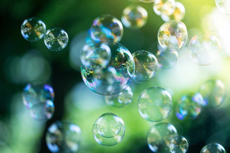 Seifenblasen - Blähungen vermeiden