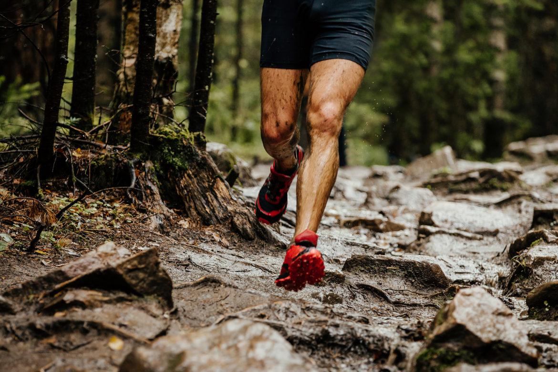 Beine von Läufer