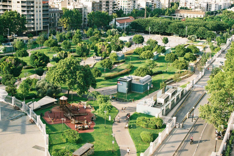 Grün in Stadt