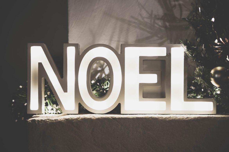 Schriftzug Noel