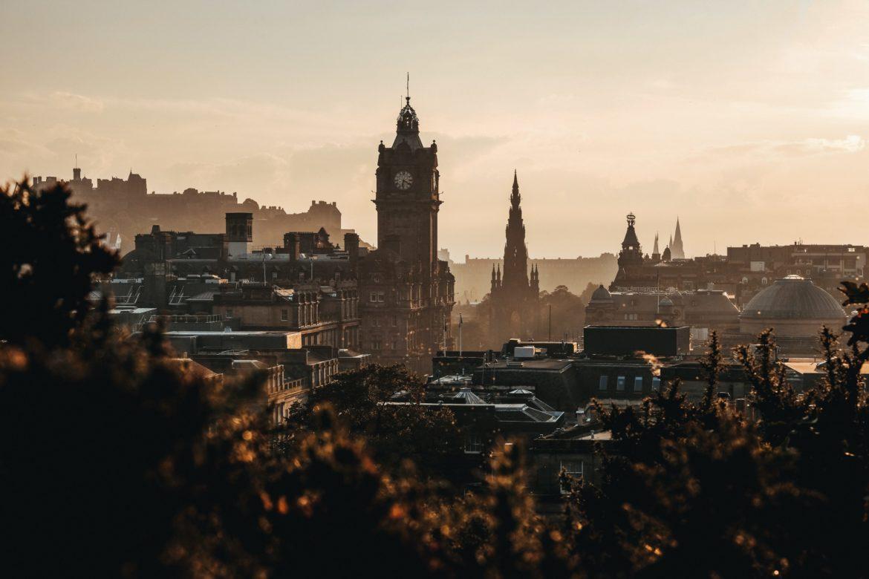 Stadt in Schottland